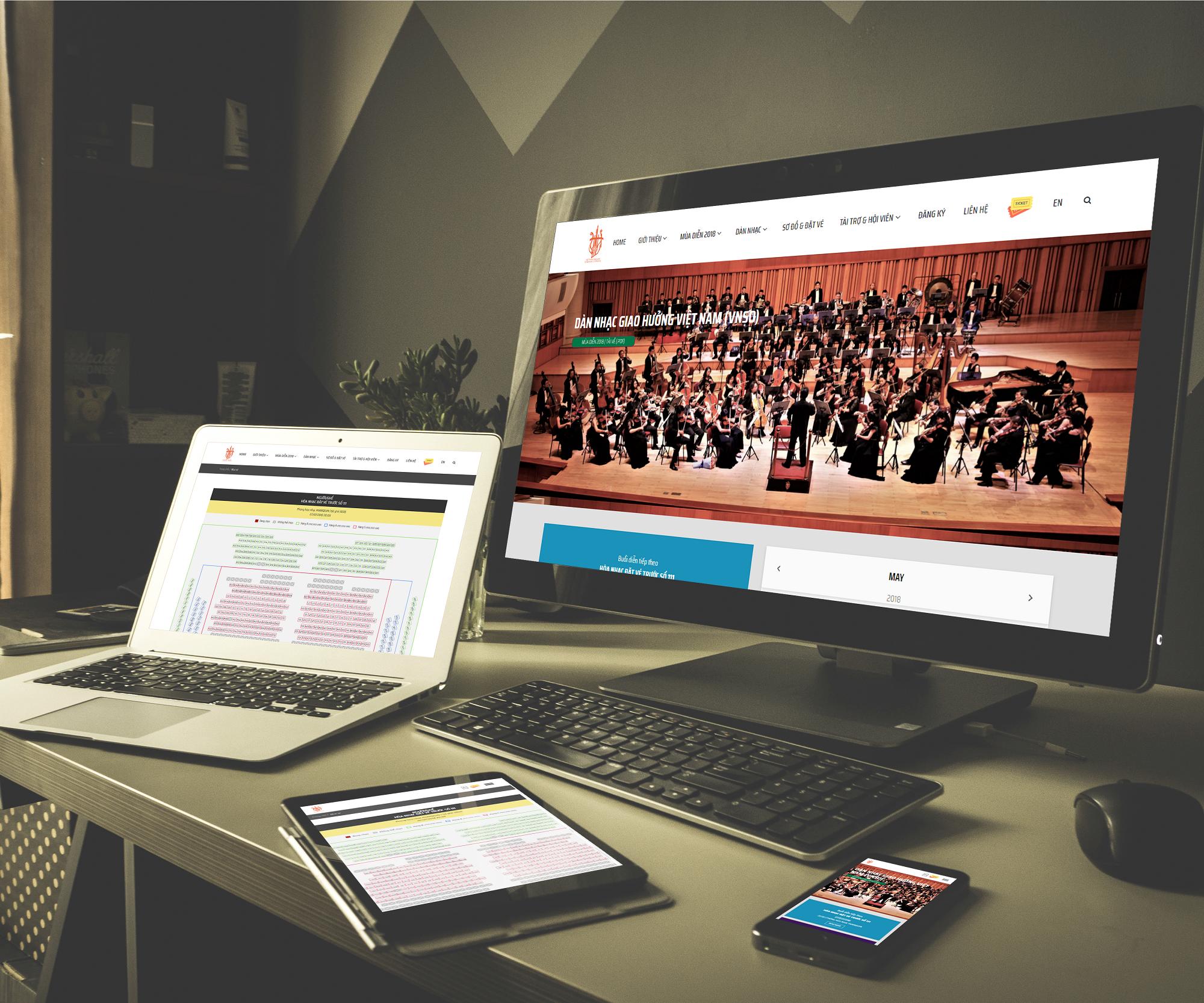 Báo giá thiết kế website đặt vé thanh toán online trực tuyến