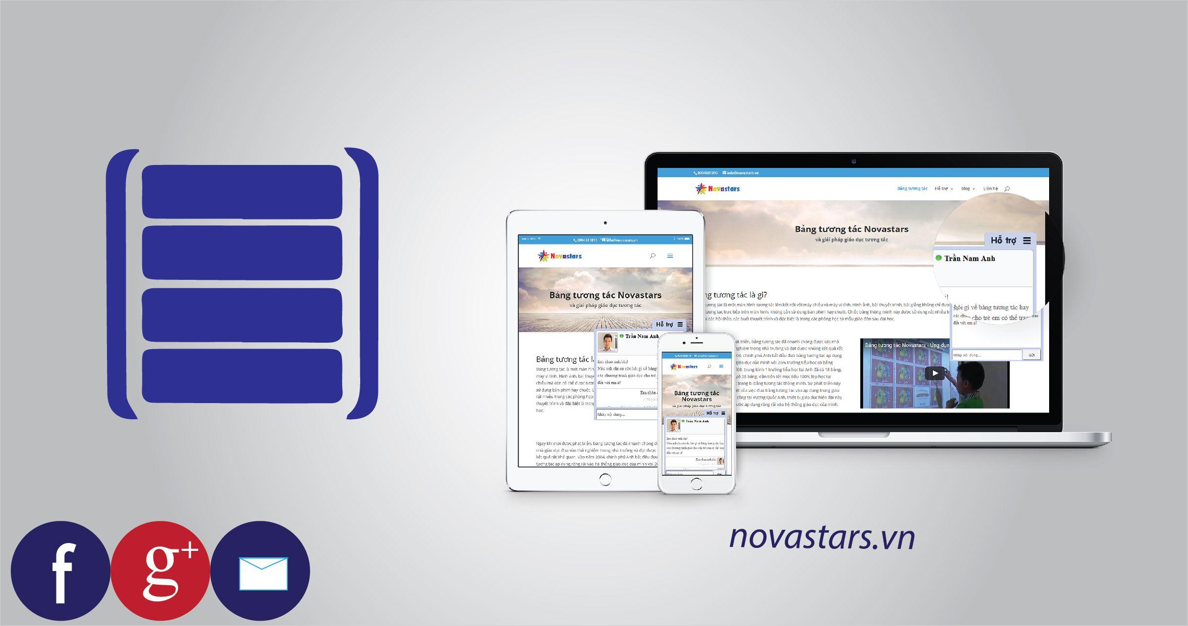 Hosting lưu trữ website bán bảng giáo dục thông minh