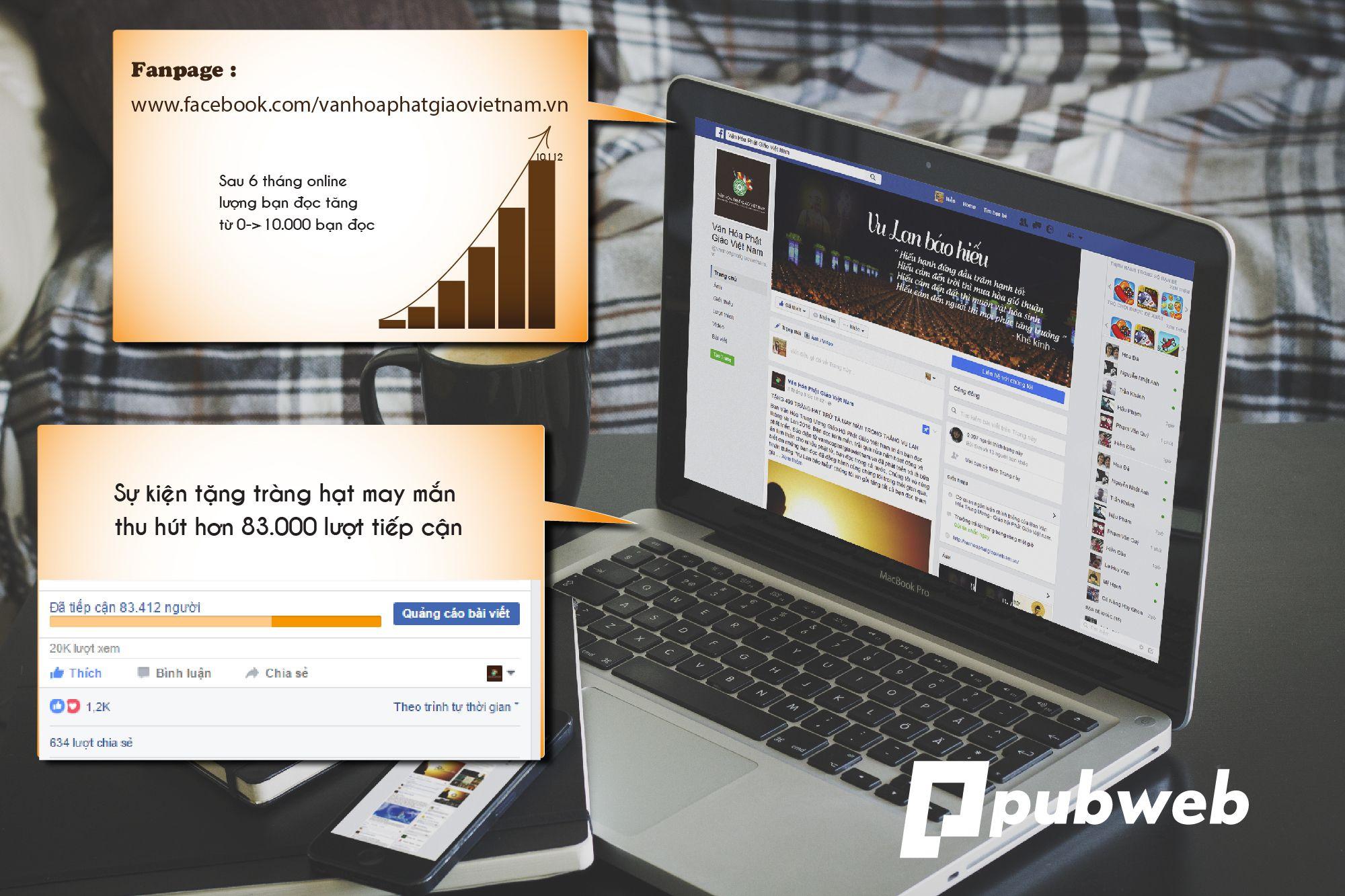 Marketing online cho báo điện tử văn hóa phật giáo