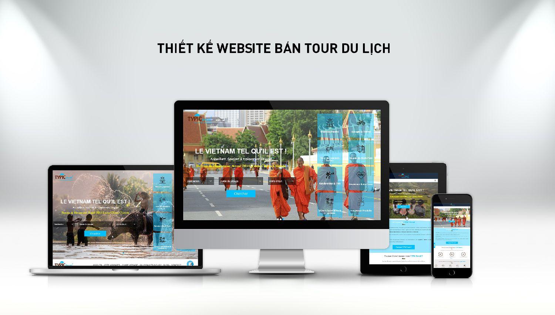 Thiết kế website bán và giới thiệu tour du lịch