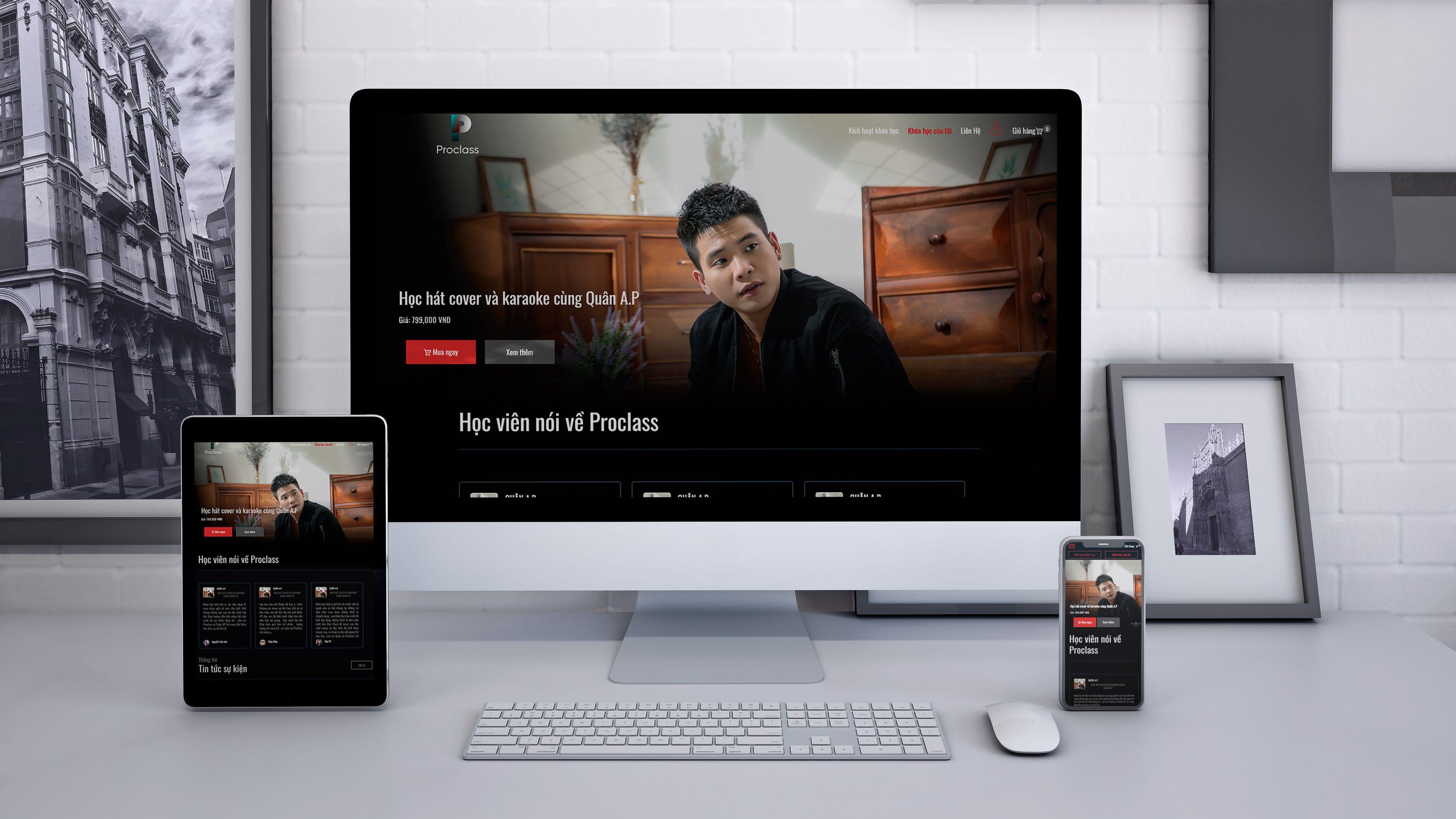 báo giá website xem video trực tuyến