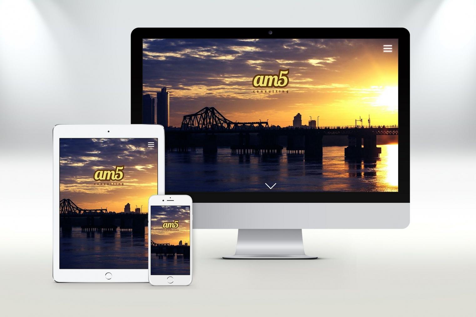 Thiết kế website giới thiệu công ty dạng landing page