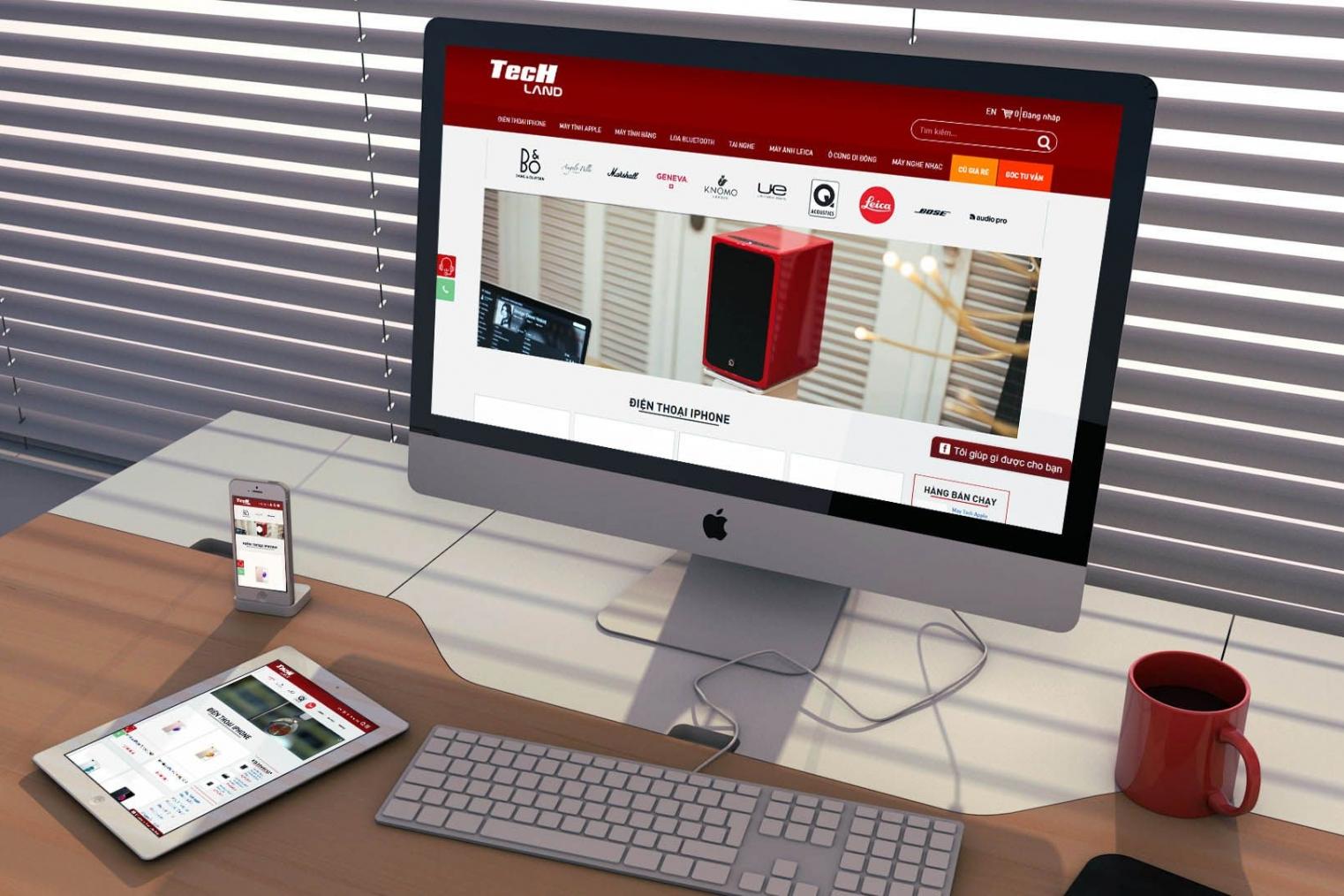 Thiết kế website thương mại điện tử bán hàng online
