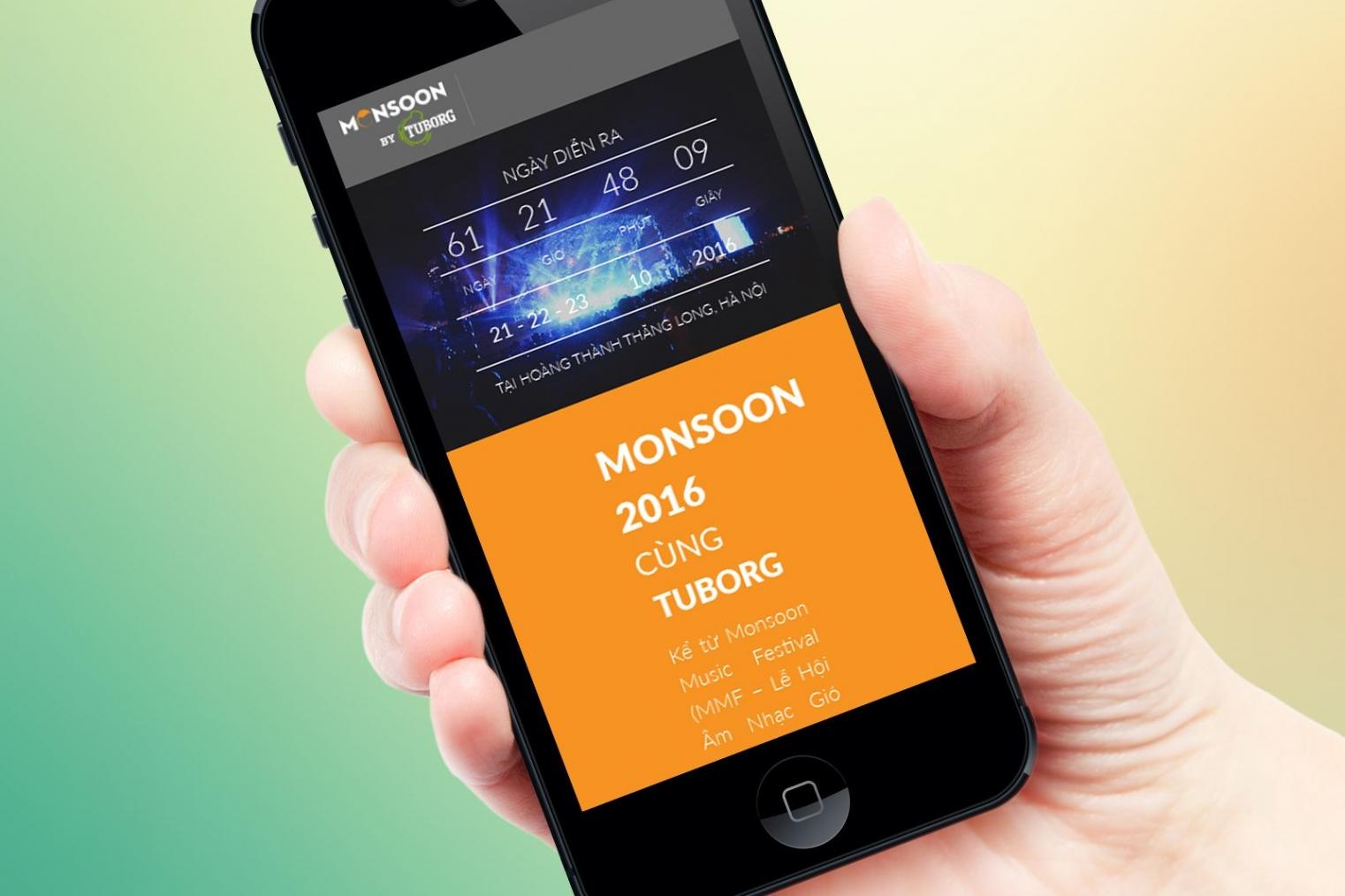 Thiết kế website giới thiệu lễ hội âm nhạc