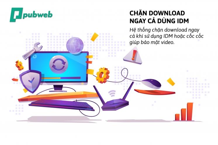 Chống download - Bước chặn lớn nhất của giải pháp học tập trực tuyến