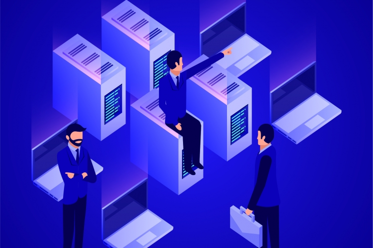 Đấu nối với hạ tầng CNTT sẵn có của doanh nghiệp