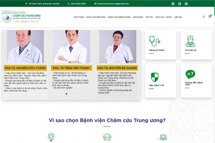 Thiết kế UX/UI hướng sự tiện dụng phục vụ bệnh nhân
