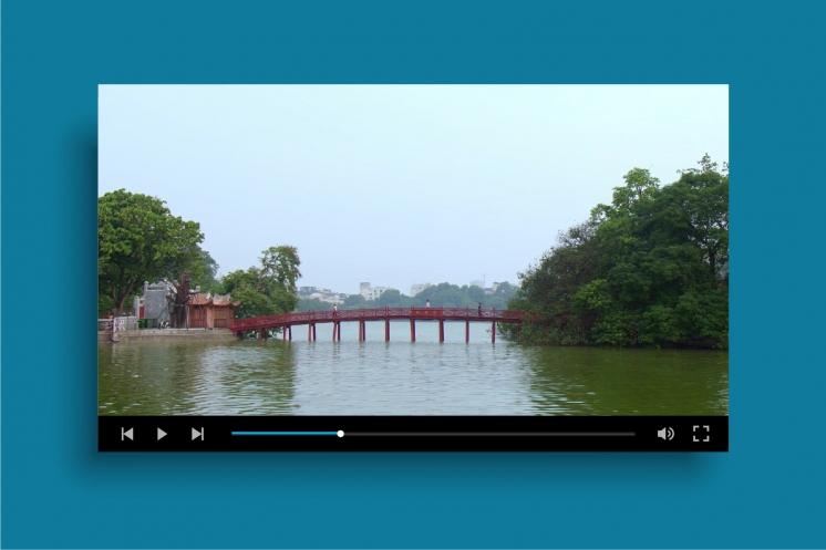 Sử dụng Video background giúp website trở nên năng động hơn